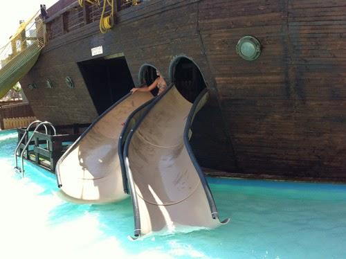 ספינת הפיראטים מרכז עזריאלי