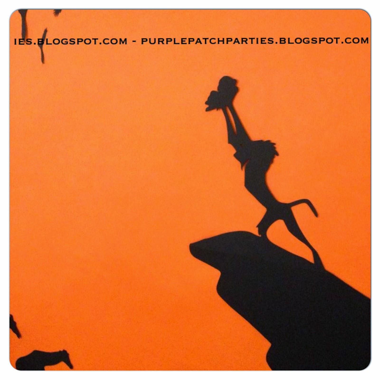 The Purple Patch Lion King Safari Baby Shower