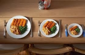 Mengurangi Porsi Makanan