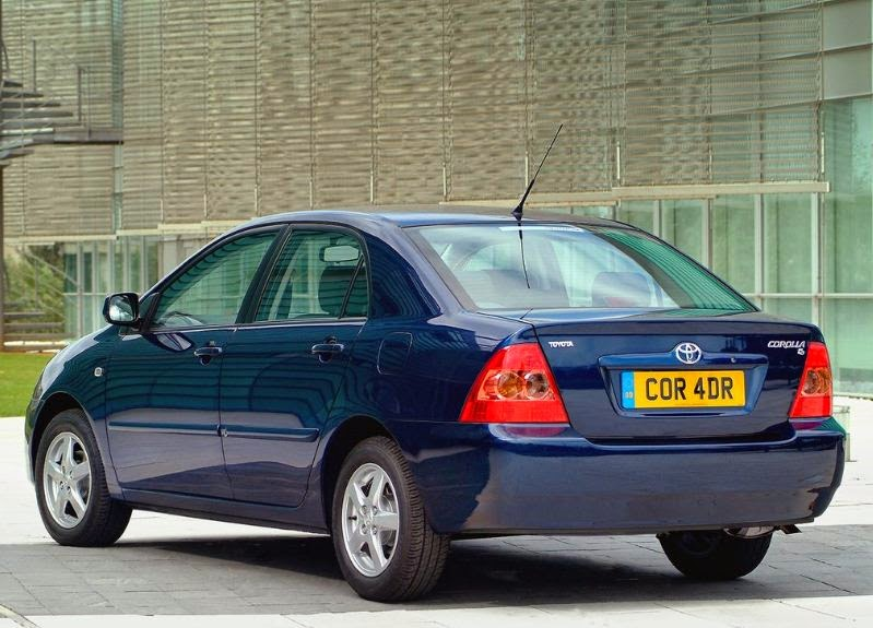 2005 Toyota Corolla Sedan Rear Side View