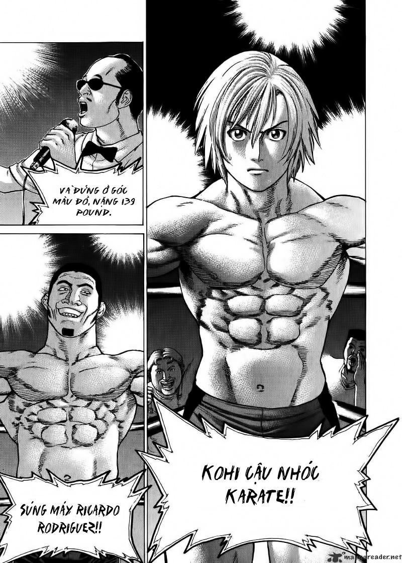 Karate Shoukoushi Kohinata Minoru chap 57 Trang 13
