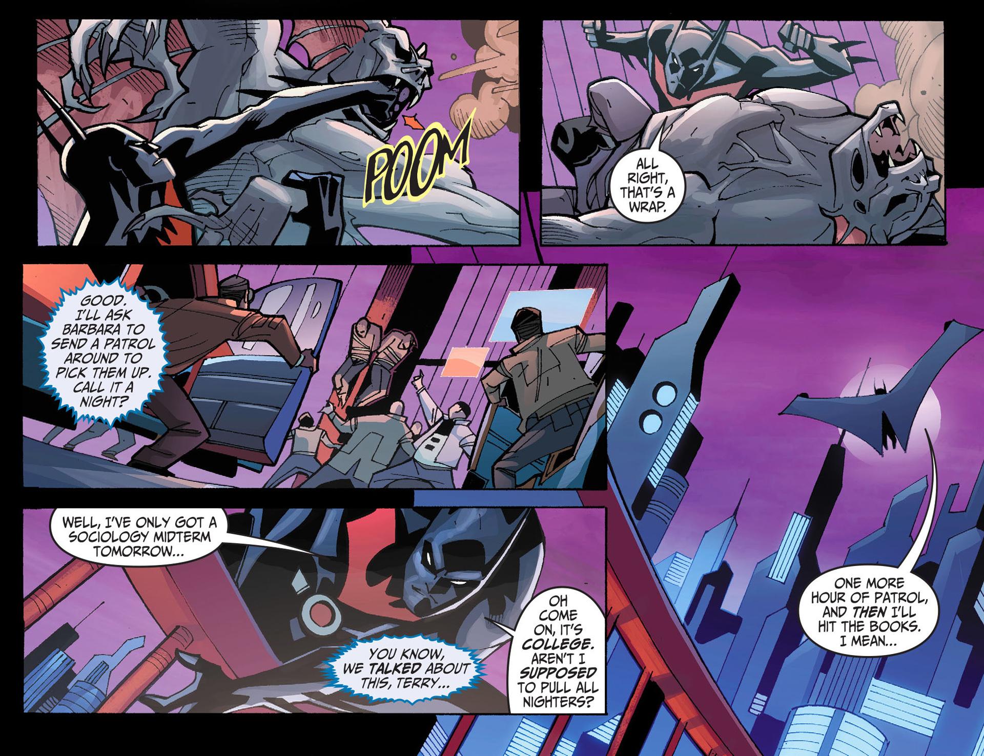 Batman Beyond 2.0 #1 #40 - English 12