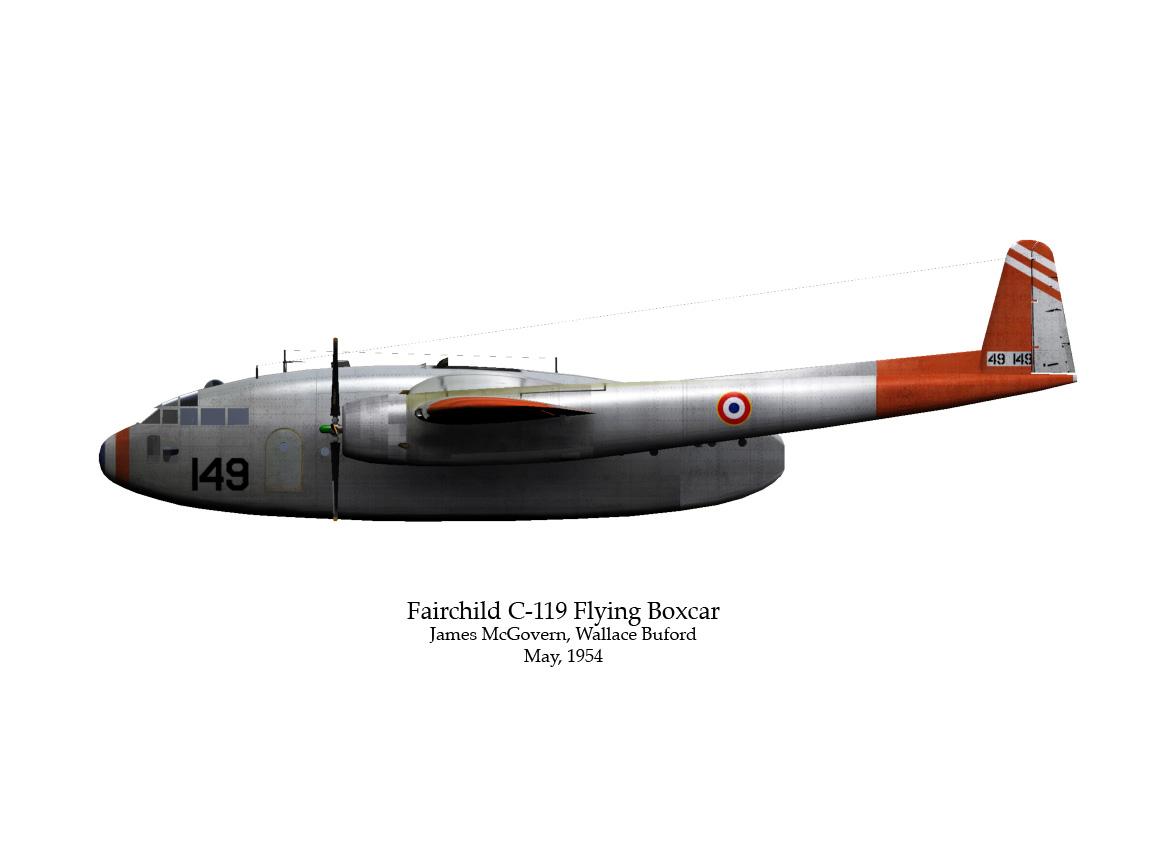 119 Flying Boxcar   Bobrock 3D hangar