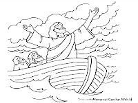 Gambar Mewarnai Cerita Dalam Injil