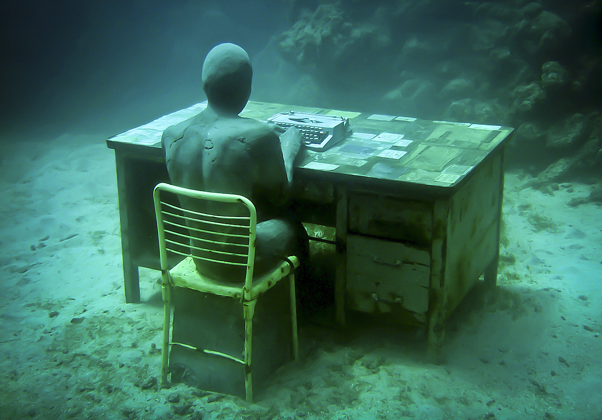 museo sott'acqua corrispondente perduto silent evolution