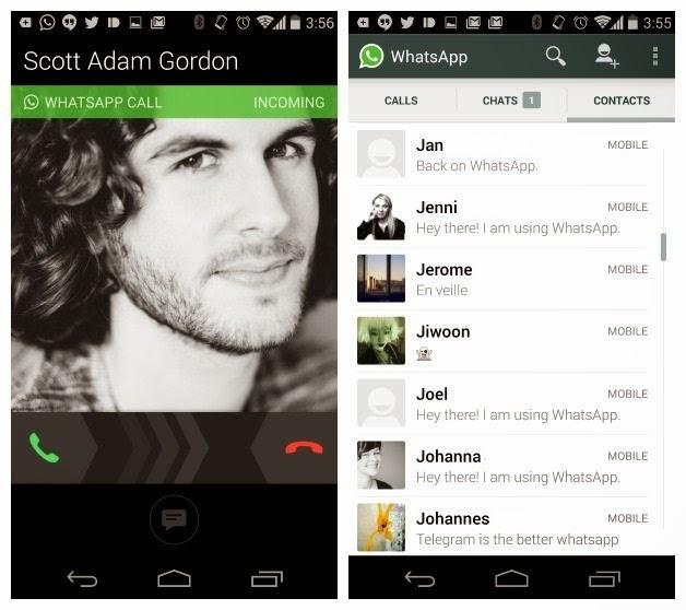 WhatsApp, Fitur Panggilan Suara Dan Cara Mengaktifkannya