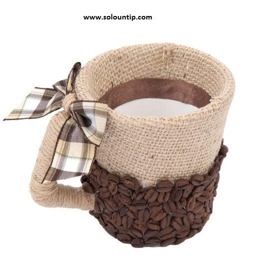 Tazas decoradas for Decoracion con tazas de cafe