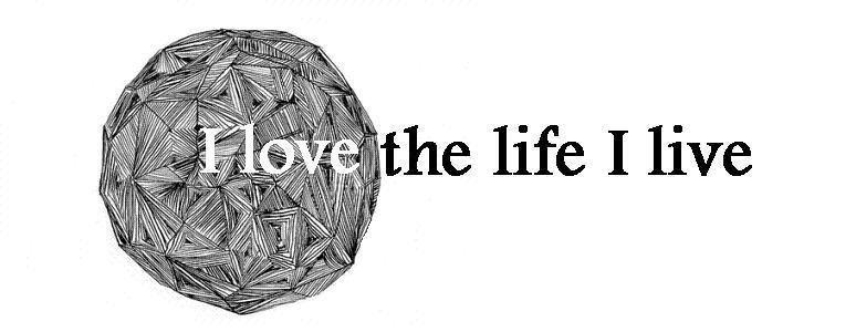I love the life I live