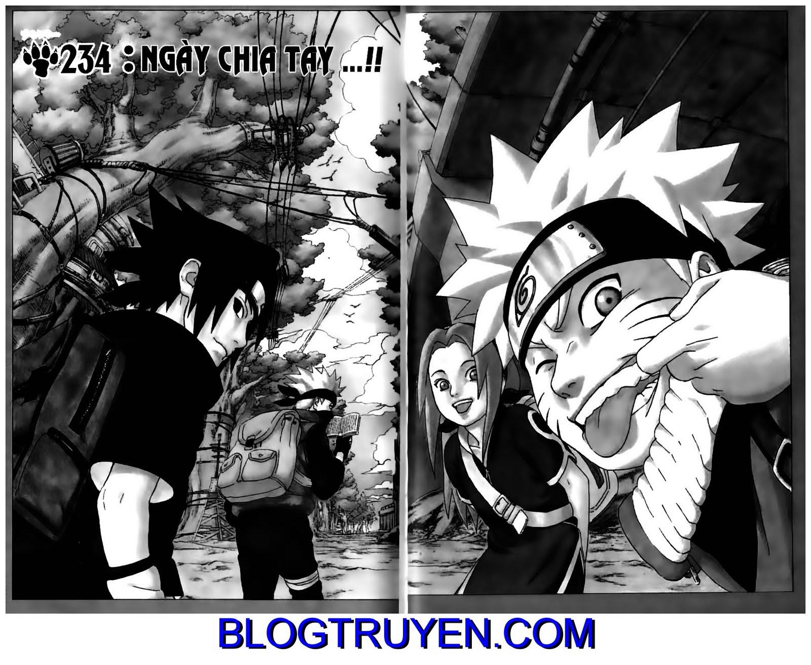 Naruto chap 234 Trang 3 - Mangak.info