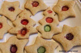 Custard cookies