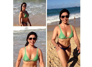 Sula Miranda comentou a boa repercussão que recebeu após publicar uma foto em que aparece de biquíni nas redes sociais. Na ocasião, todos elogiaram sua boa forma aos 51 anos
