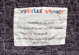 Vehicles Vroom, label