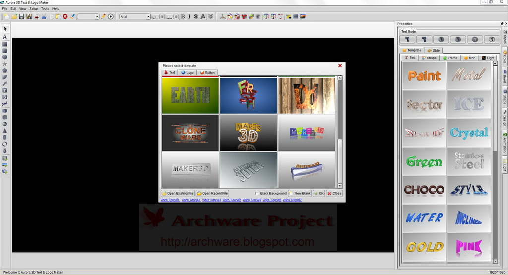 3d text graphics maker incl serial and patch lz0