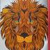 Coloriage Anti Stress Lion