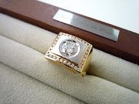 使わなくなったメンズリングのダイヤモンドを使って自分スタイルのリングにリスタイル(リメイク)する。