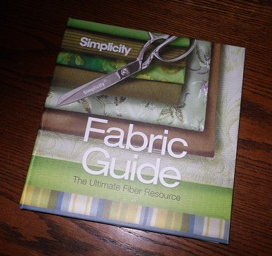 Flower Shop Names on Stitches And Seams  Review  Simplicity Fabric Guide  And Giveaway