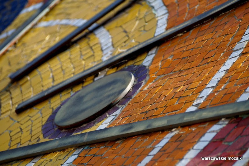 Egipska Saska Kępa Warszawa stolica dekoracja Kopernik mozaikowe