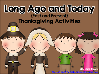 http://www.teacherspayteachers.com/Product/Long-Ago-and-Today-Thanksgiving-Activities-961895