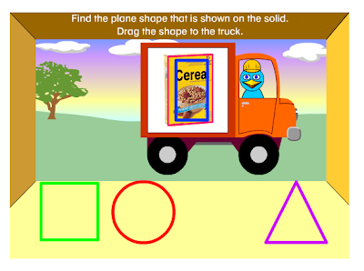 http://www.harcourtschool.com/activity/solid_figures_plane_shapes/
