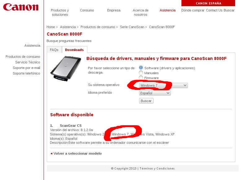 instalacion escaner linux: