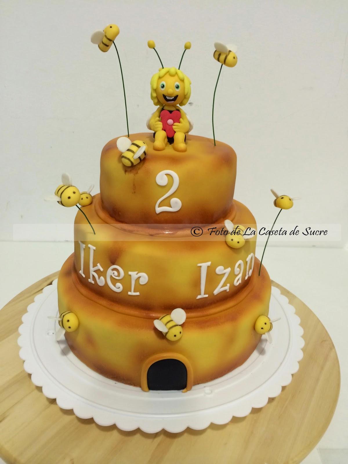 tarta la abeja maya