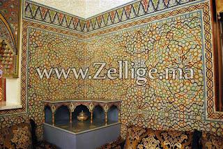 carrelage de salon marocain. Black Bedroom Furniture Sets. Home Design Ideas