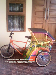 Becak Mini Setir Samping