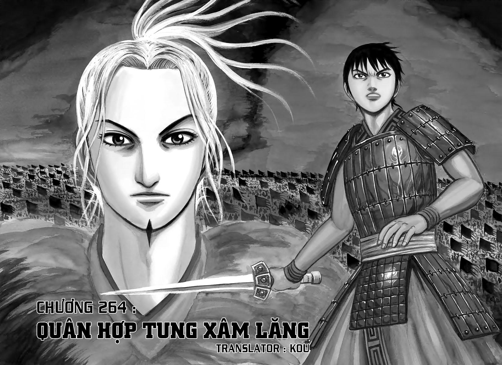 Kingdom – Vương Giả Thiên Hạ (Tổng Hợp) chap 264 page 2 - IZTruyenTranh.com