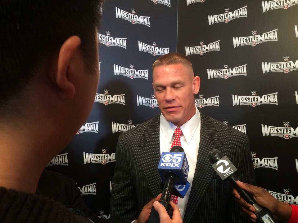 WrestleMania XXXI media day