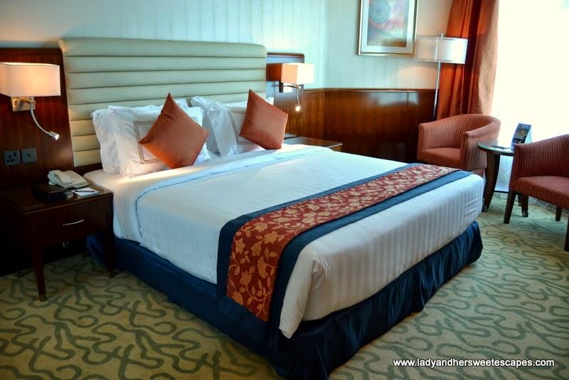 hotel room at Oceanic Khorfakkan Resort and Spa