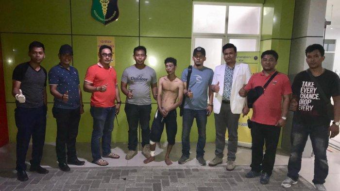 Ibrahim DPO Kasus Begal Ditangkap Polsek Medan Area
