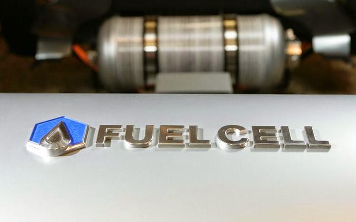 Hydrogen fuel cell tank