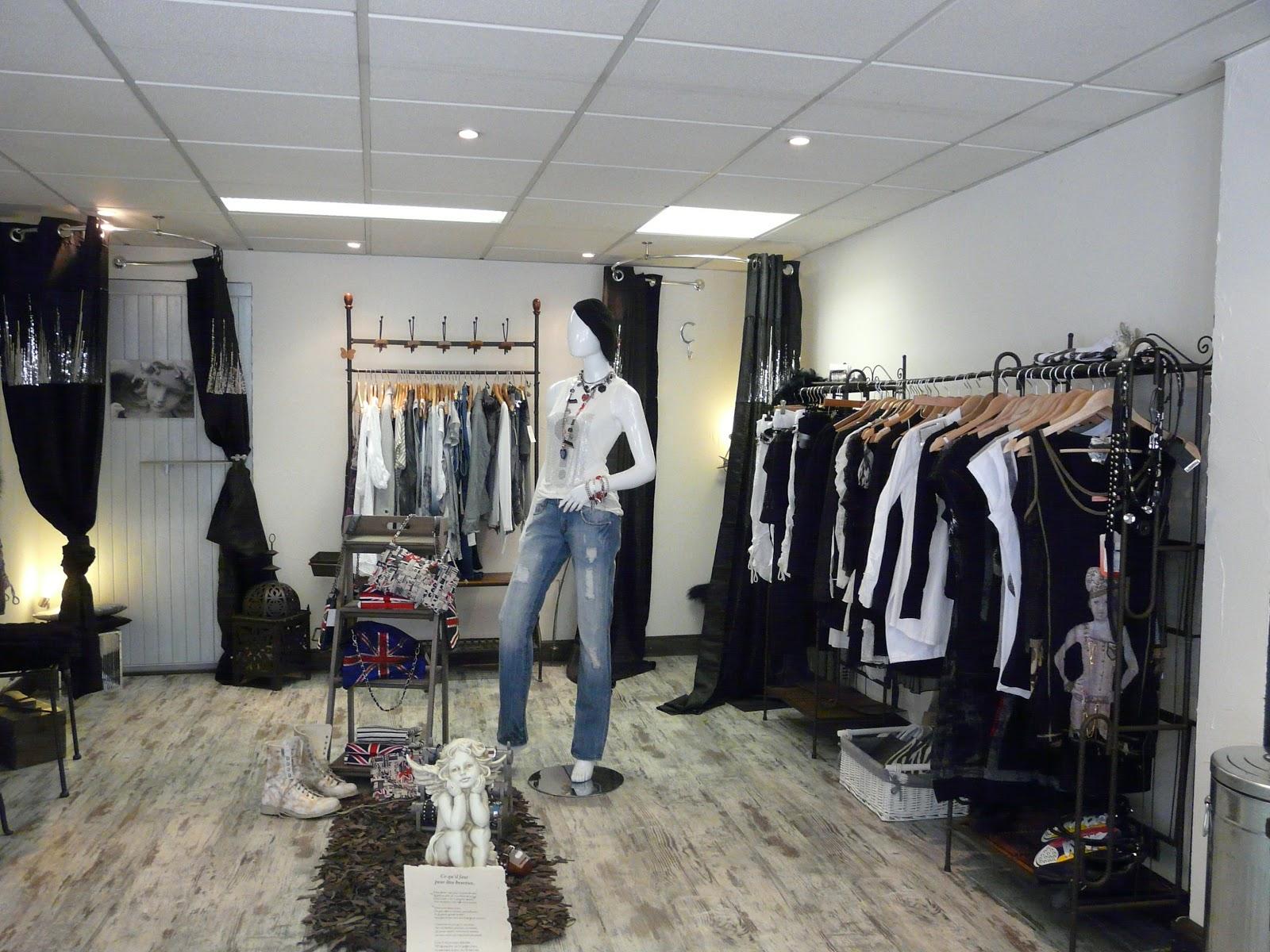 Decoration Boutique Vetement Femme Steadlane Club