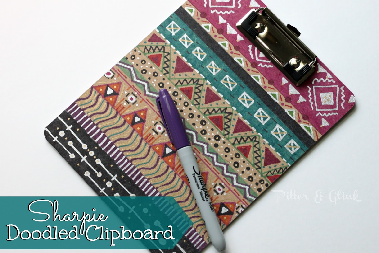how to cover a clipboard