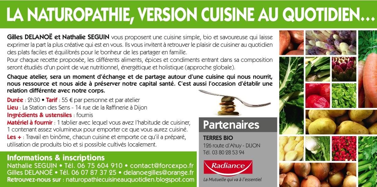 Cuisine naturopathie au quotidien actualisation du - Cuisine legere au quotidien ...