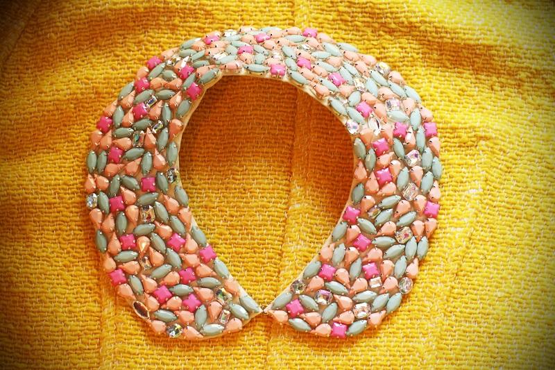 collana rosa celeste colori pastello primark accessori lowcost