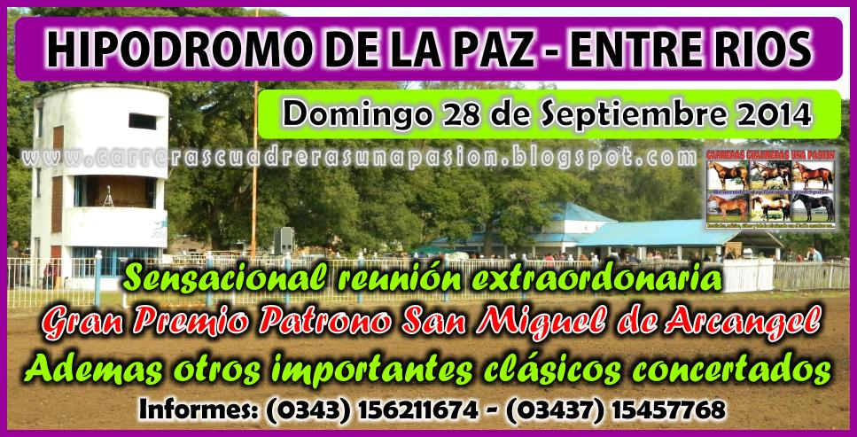 LA PAZ - REUNION 28.09.2014