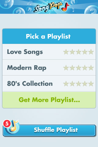 SongPop Free Free App Game By FreshPlanet Inc