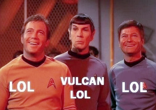 Star Trek LOL Meme