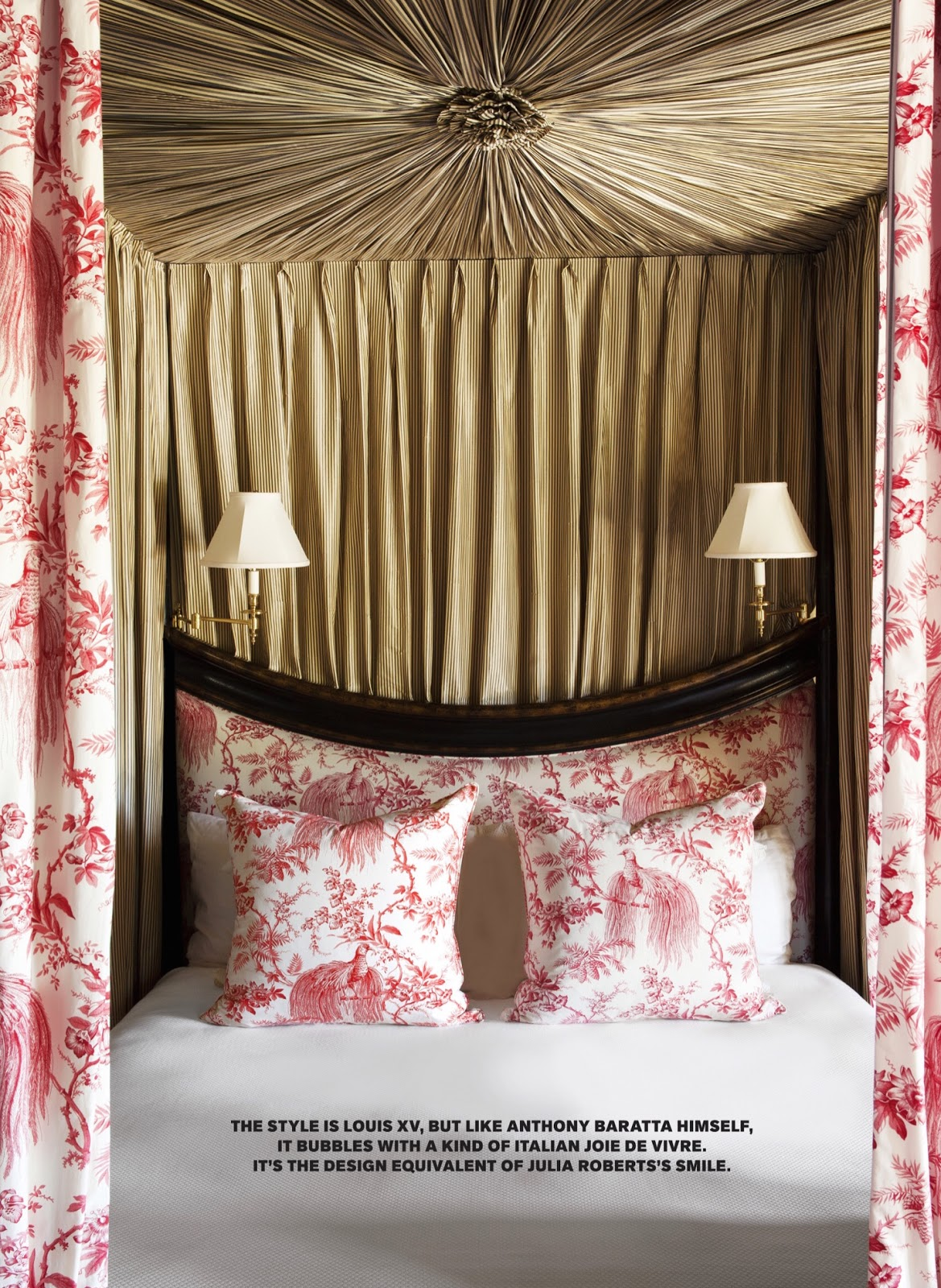 Splendid sass monday 39 s room of the day anthony baratta for Anthony baratta luna upholstered bed