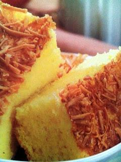 kelemben (cake) jagung wan keju