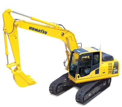 Komatsu Excavators PC160LC-8