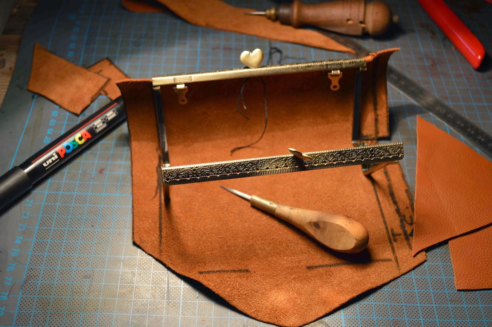 lisette atelier fa rie cuir du vercors porte monnaie vintage impression photo 100 fait main. Black Bedroom Furniture Sets. Home Design Ideas