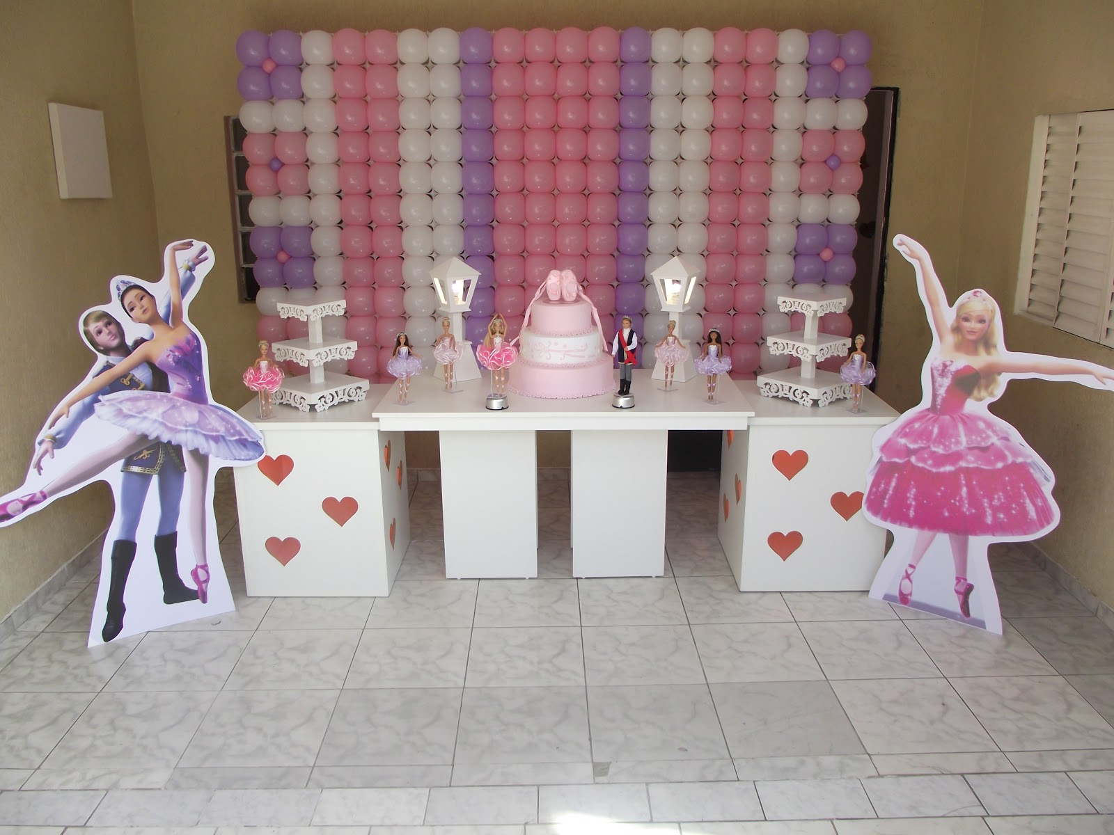 Decora    O Barbie E As Sapatilhas M  Gicas