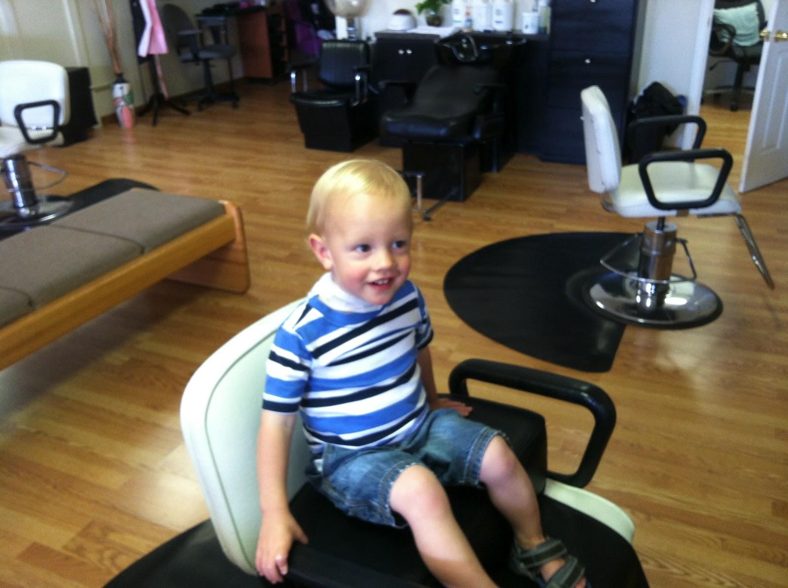 Brenchleys Blog Kendricks First Haircut