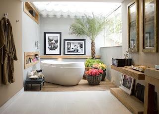 baño elegante y de lujo