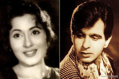 k asif and dilip kumar sister  DILIP KUMAR and MADHUBALA The