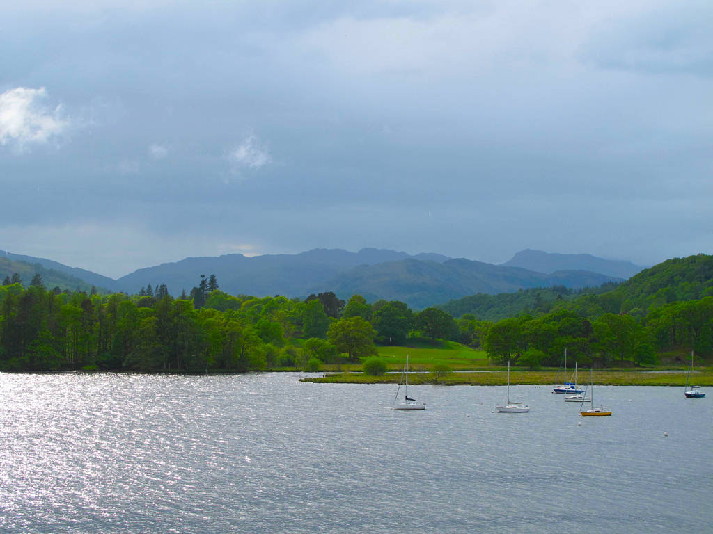 Windermere United Kingdom  City new picture : Windermere Natural Beauty United Kingdom's Largest Natural Lake