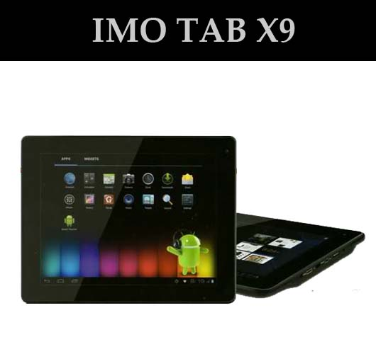 "Imo X9 IPS tablet 9.7"" Android ICS RAM1Gb A8 1.2Ghz I Jual Imo X9"