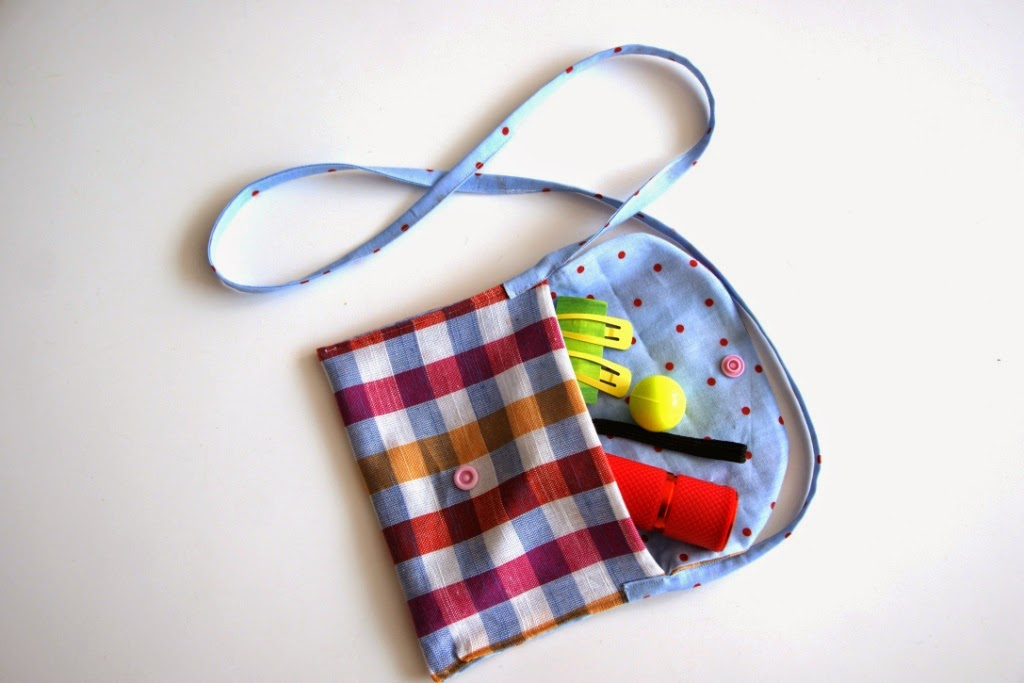 homemade little purse for girls